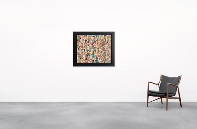 Antonio Seguí, 'Cosas Que Pasan', 2016, Painting, Acrylic on canvas, BOCCARA ART