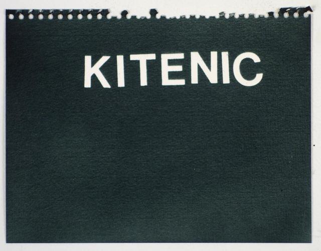 , 'Kitenic (black),' , Rodolphe Janssen
