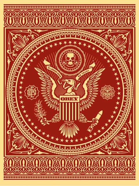 Shepard Fairey, 'Presidential Seal Red', 2007, Gregg Shienbaum Fine Art