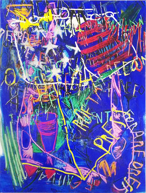 , 'RGB Affirmations (blue),' 2018, Dio Horia