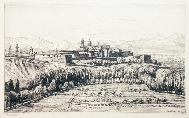Francis Dodd, 'Pamplona', 1928, Hans den Hollander Prints