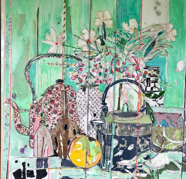 , 'Still Life with Kettle,' 2018, Rebecca Hossack Art Gallery
