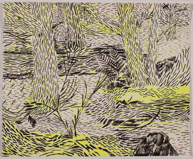 , 'Neon Woods,' 2017, Linda Hodges Gallery