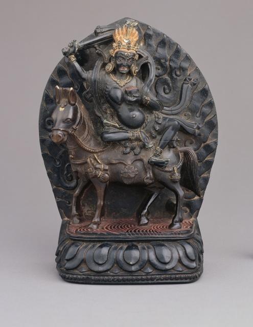 , 'Shri Devi (protector), Dorje Rabtenma,' 15th century, Rubin Museum of Art