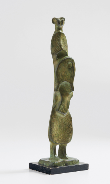 """Abstract Bronze Sculpture of Henry Moore Dali Inspired Surreal Figure 18/"""" x 5/"""""""
