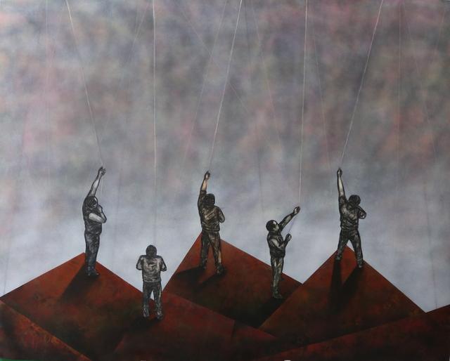 , 'Untitled I (Sediments and Constellations),' 2016, ARTLabAfrica