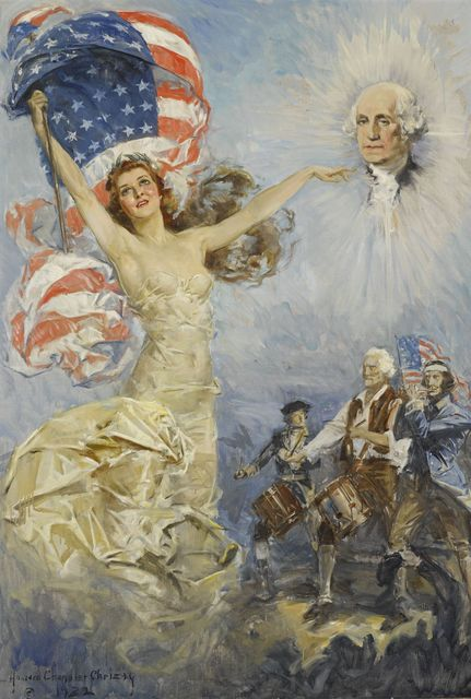 Howard Chandler Christy, 'Mother of His Country', 1932, The Illustrated Gallery