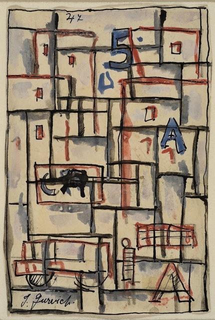 , 'Constructivo,' 1947, Galería de las Misiones