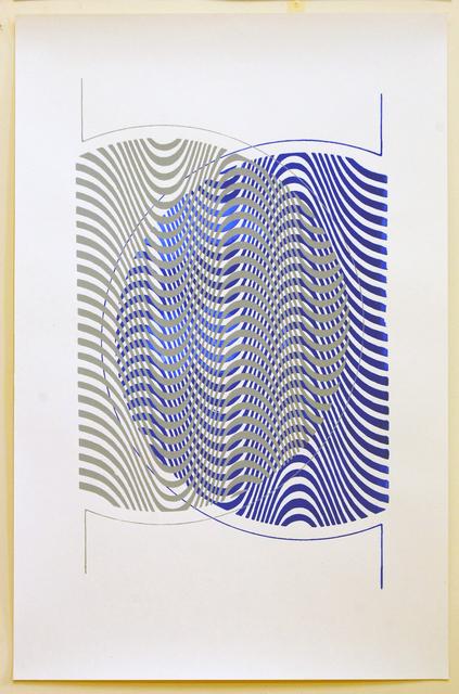 , 'Double Psychedelic Print,' 2014, Casa Triângulo