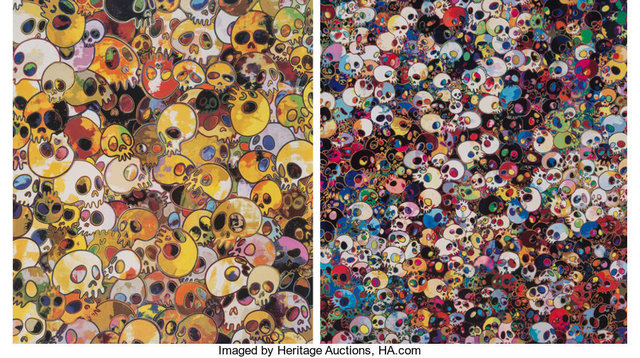 Takashi Murakami, 'MGST 1962-2011 and There are Little People Inside Me (two works)', 2011, Heritage Auctions
