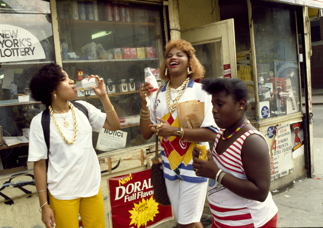 , 'Salt-N-Pepa in Manhattan,' 1986, Getty Images Gallery