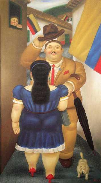Fernando Botero, 'National Holiday', 1983, Joseph K. Levene Fine Art, Ltd.