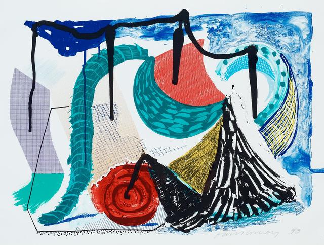 David Hockney, 'Catherine's Walk', 1994, Zeit Contemporary Art