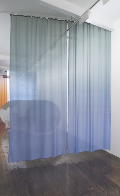 Lucia Koch, 'Air temperature (dirty blue)', 2016, Galeria Nara Roesler