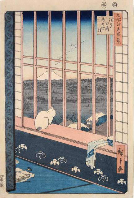 , 'Asakusa Ricefield and Torinomachi,' 1857, Ronin Gallery