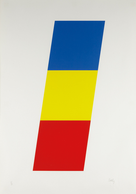 Ellsworth Kelly, 'Blue Yellow Red', 1970, Phillips