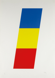 Ellsworth Kelly, 'Blue Yellow Red,' 1970, Phillips: Evening and Day Editions (October 2016)