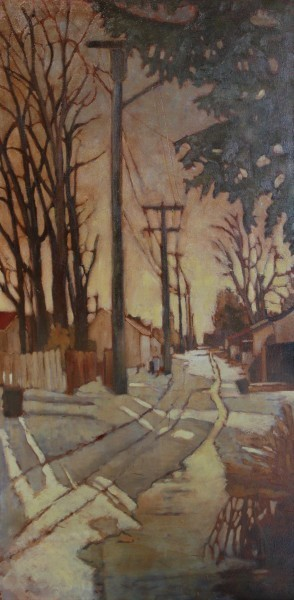 Kari Duke, 'Winter Alley', 2004, The Front Gallery