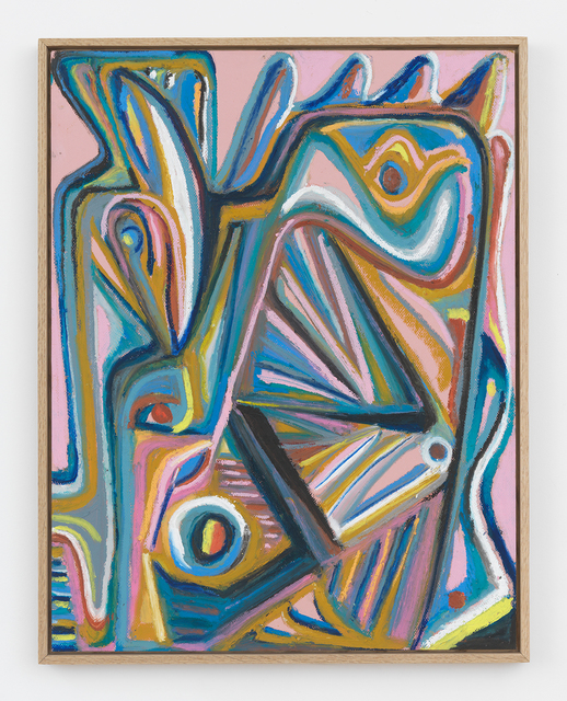 Johannes VanDerBeek, 'Pink Head', 2017, Halsey McKay Gallery
