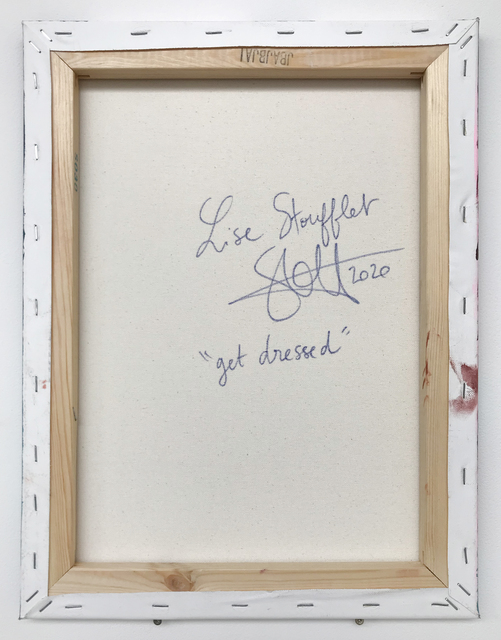 Lise Stoufflet, 'Get dressed', 2020, Painting, Oil on canvas, Daniel Raphael