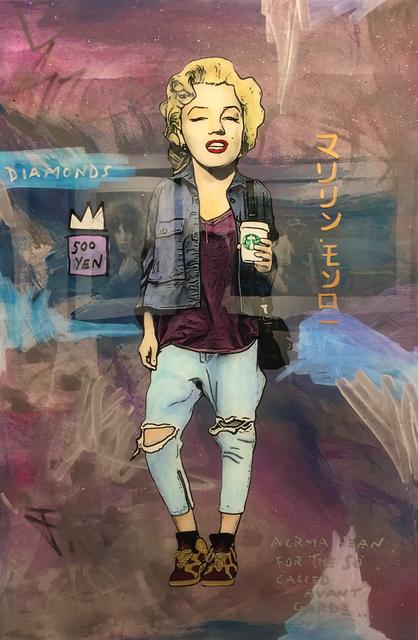 , 'Marilyn,' 2016, Mouche Gallery
