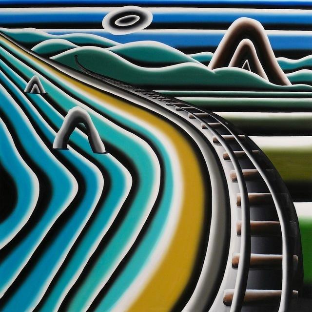 , 'Gleise am Meer,' 2013, Max Weber Six Friedrich