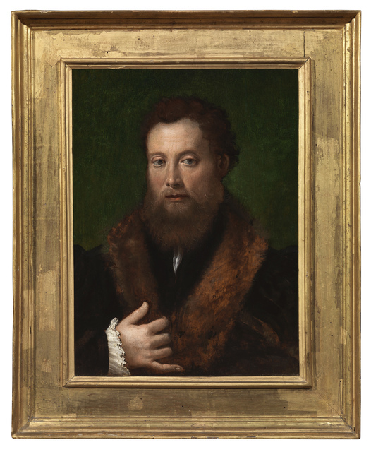 , 'Portrait of Man wearing Fur,' ca. 1536, Brun Fine Art