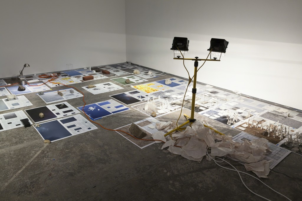 Installation view, Calendar Series, 2013-2015 30 January – 28 March 2015