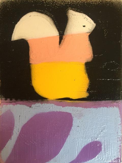 , 'Squirrel,' 2018, M.A. Doran Gallery
