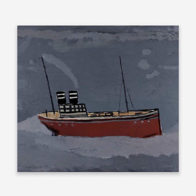 Duncan Hannah, 'After Wallis II', 1989, Capsule Gallery Auction