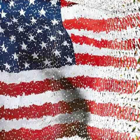 David Mach, 'US Flag', Eternity Gallery