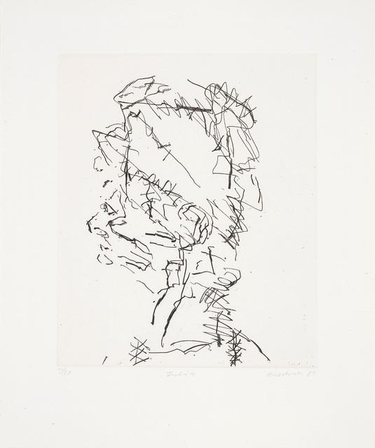 Frank Auerbach, 'Julia, from Seven Portraits', 1989-90, Phillips