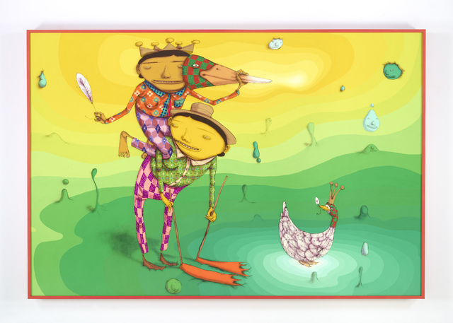 , 'O Pato Rei (The King Duck),' 2016, Lehmann Maupin