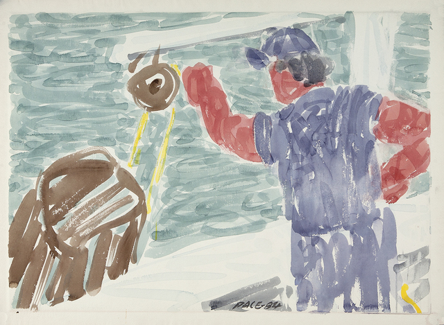 , 'Lobsterman Hauling,' 1984, Dowling Walsh