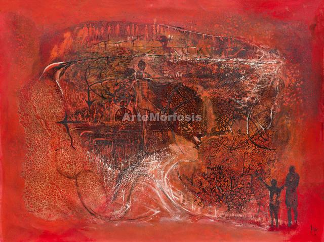, 'Sueño rojo | Red Dream,' 2016, ArteMorfosis - Galería de Arte Cubano