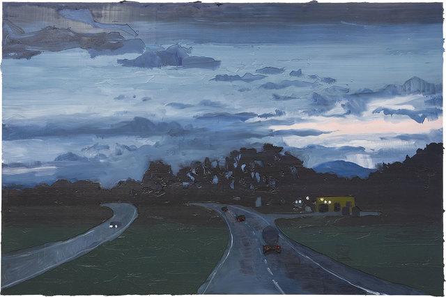, 'Auto estrada ao anoitecer,' 2016, SIM Galeria
