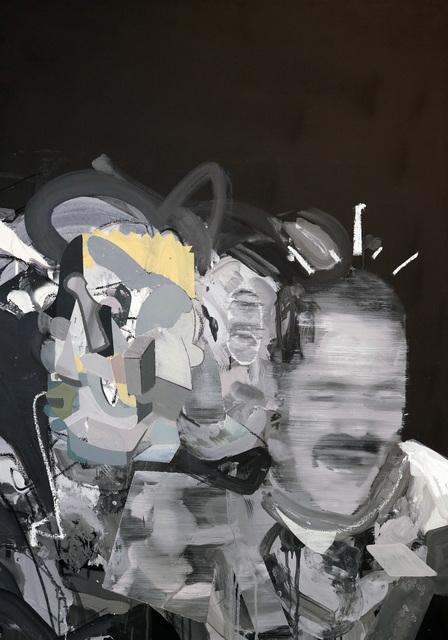 Elías Peña Salvador, 'My St Juan of Joy', 2021, Painting, Acrylic and Oil on Canvas, Contemporary by Angela Li
