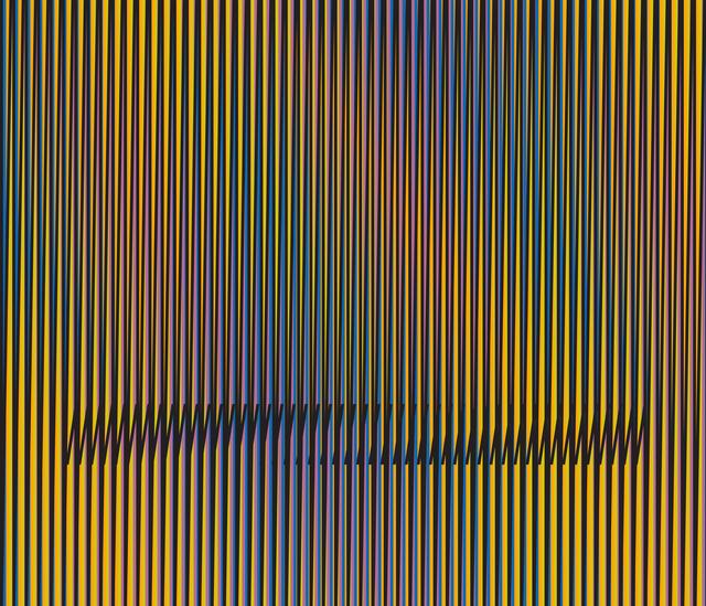 , 'Inducción Cromática a Doble Frecuencia Serie Caura 6,' 2015, Marion Gallery