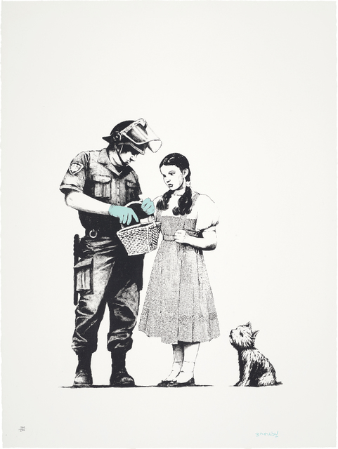 Banksy, 'Stop & Search', 2007, Phillips