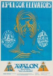 13th Floor Elevators: a rare U.S. concert poster