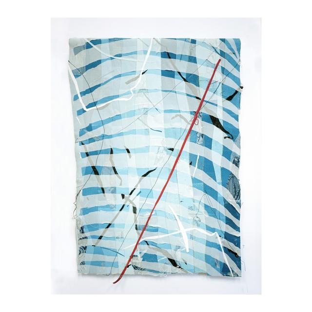 , 'Fabric series 2,' 2018, Galleria Varsi