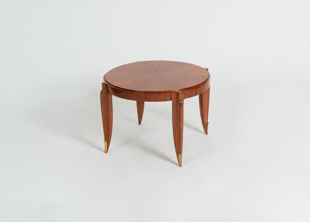 , 'ROUND COFFEE TABLE,' ca. France-circa 1935, Maison Gerard