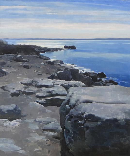 , 'On the Coast,' , Sirona Fine Art