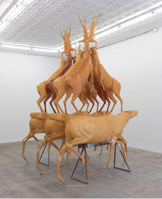 , 'Animal Pyramid,' 1989, Gagosian