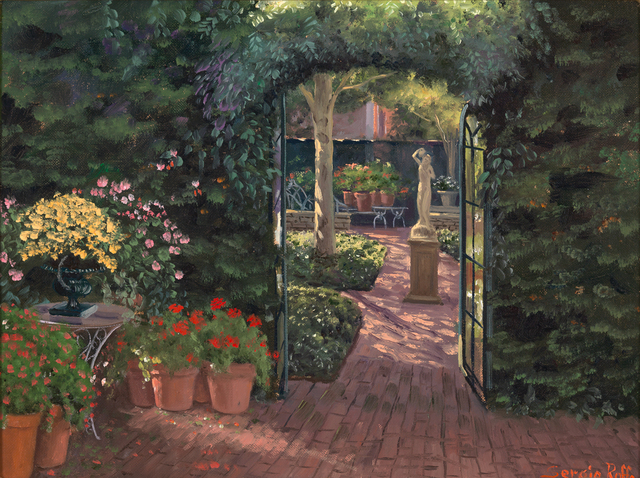 Sergio Roffo, 'Reading Garden at The Charlotte Inn', Active Contemporary, The Edgartown Art Gallery, Inc.