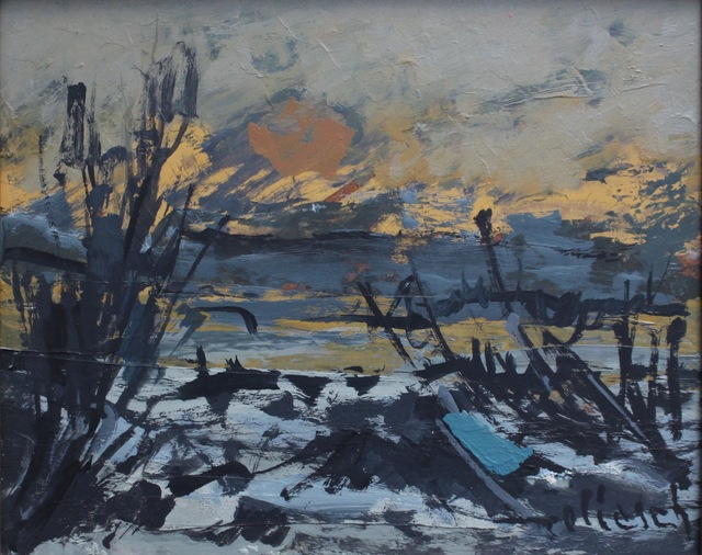 , 'Sunset in Provence,' 1980, Bureau of Interior Affairs
