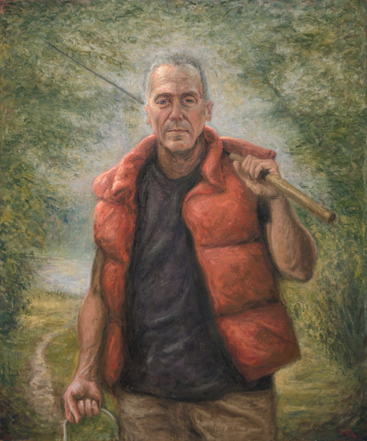 Dustin Neece, 'Man Fishing', ca. 2000, David Benrimon Fine Art