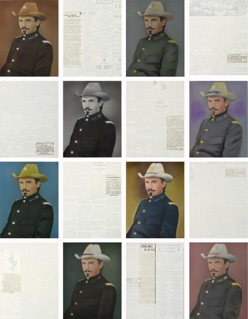 , 'Georges W. Rollins,' 2015, Galería La Caja Negra