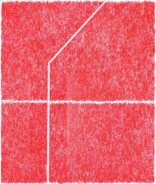 , 'Spray Red 8,' 2019, Haw Contemporary