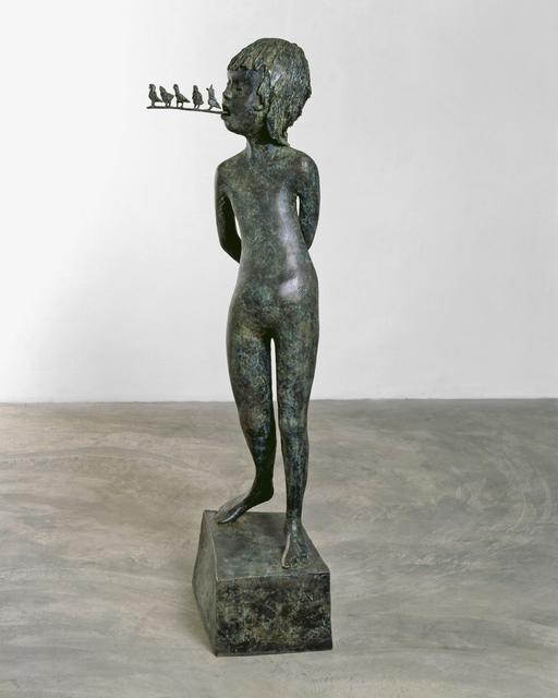 Tim Hawkinson, 'Sweet Tweet', 2004, Sculpture, Bronze, Artifex Press